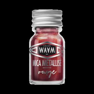 Waam Mica Métallisé Rouge