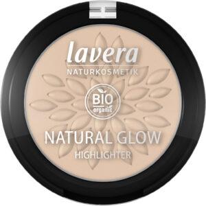 Lavera natural highlighter Luminous Gold 02