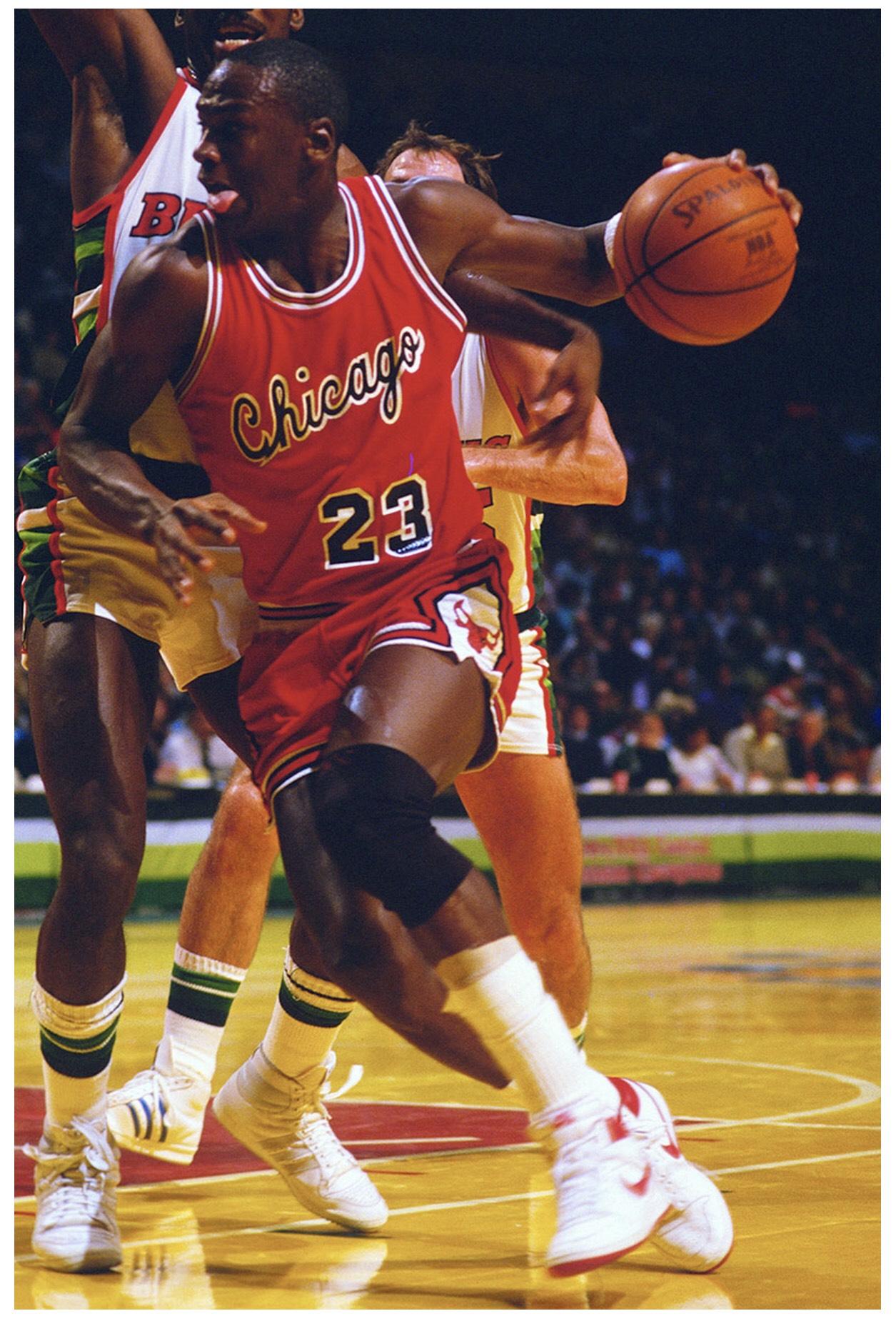 Michael Jordan et la Air Ship